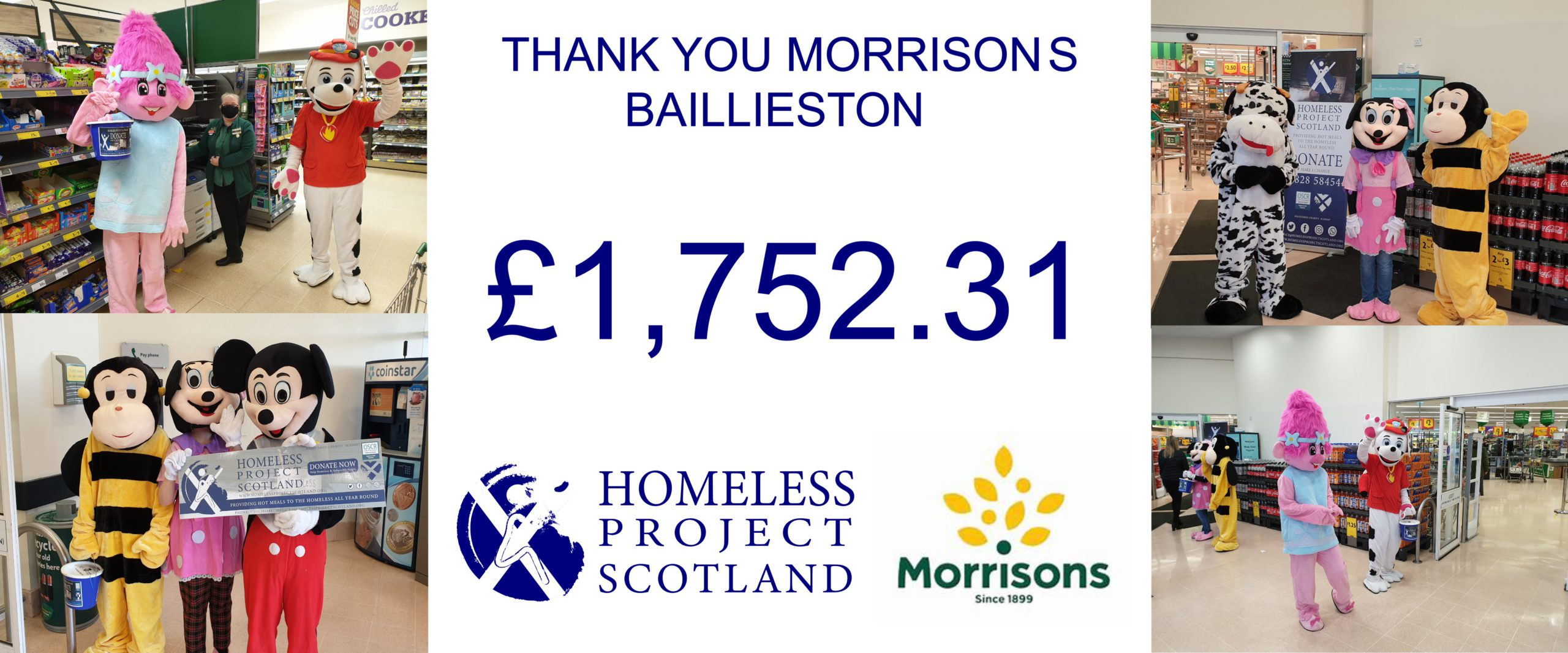 We raised an AMAZING !!!!! £1,752.31